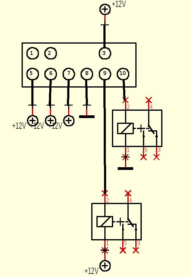 Zusatzschalter (oder vielmehr modifizierte Originalschalter ...